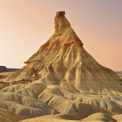Desierto de las Bardenas Reales.