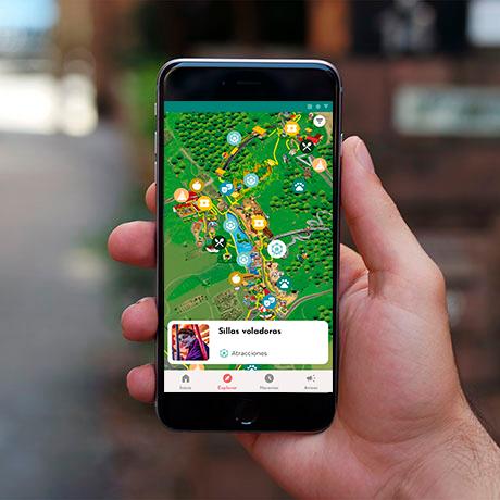 Imagen de como se ve la App de Sendaviva.