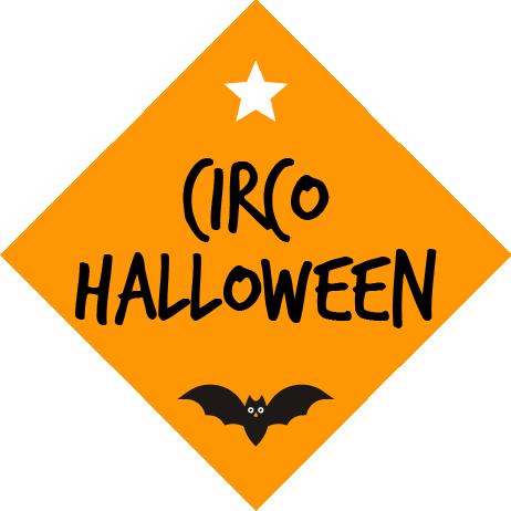 logo circo halloween